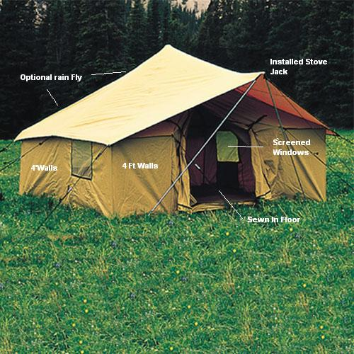 & Canvas Wall Tents | Cabin Wall Tents | Hunting Wall Tents